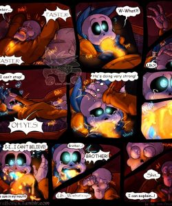 Just A One Night 021 and Gay furries comics