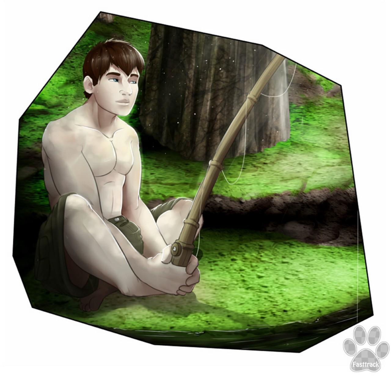 King Fisher gay furry comic