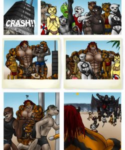 Kings Of The Beach 002 and Gay furries comics