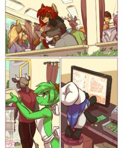 Kitchen Chaos 002 and Gay furries comics