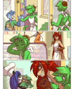 Kitchen Chaos 003 and Gay furries comics