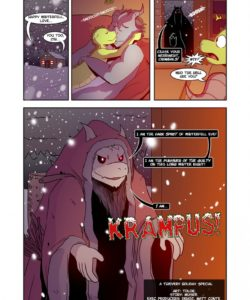 Krampus! A Thievery Holiday Special 002 and Gay furries comics