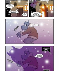 Krampus! A Thievery Holiday Special 010 and Gay furries comics