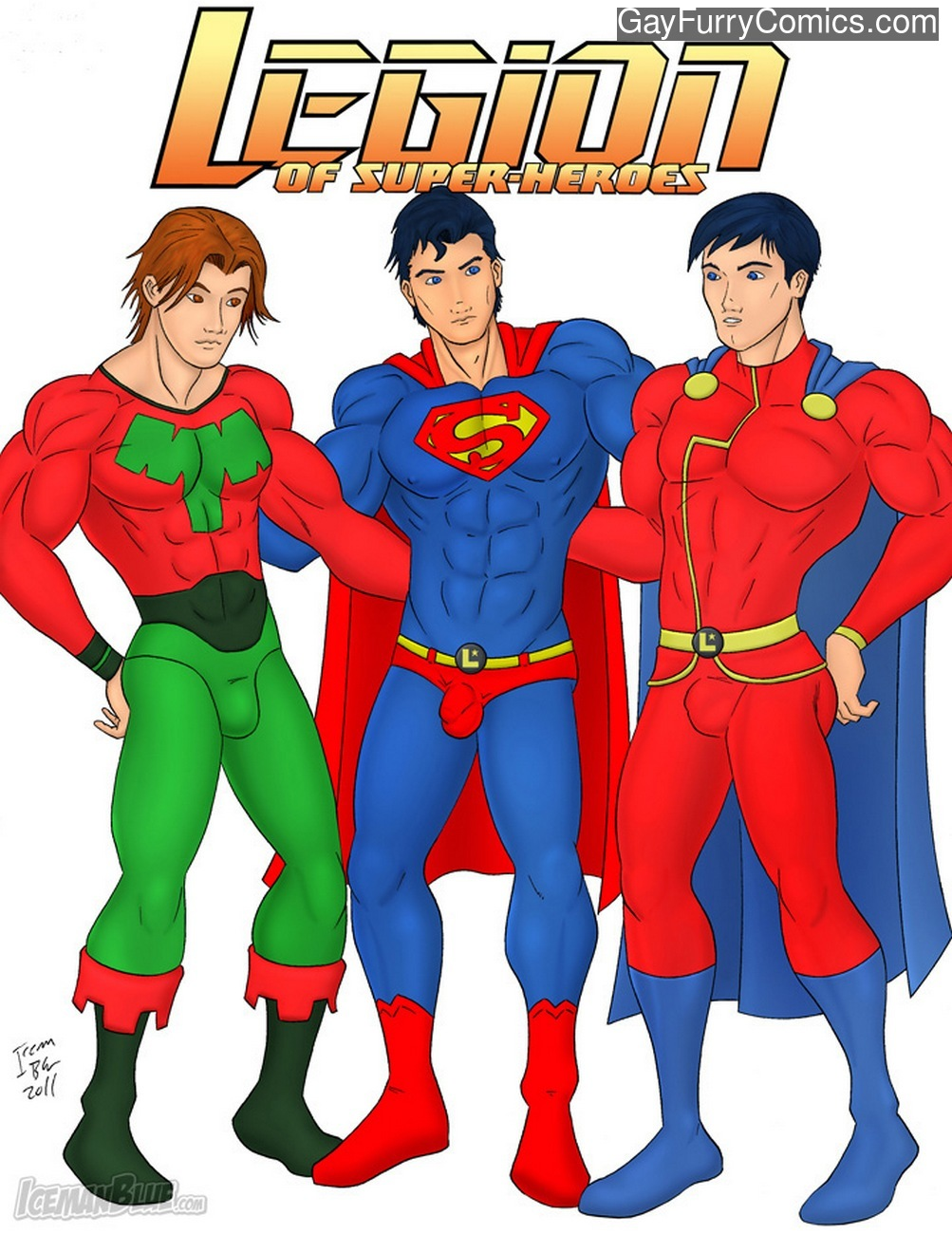 Legion Of Super-Heroes gay furry comic