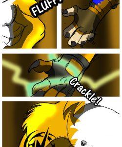 Lightning Fursona Transformation 004 and Gay furries comics