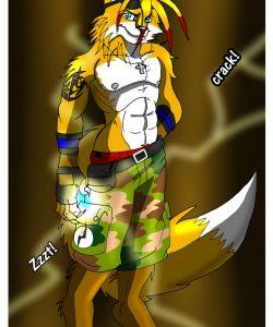 Lightning Fursona Transformation 008 and Gay furries comics
