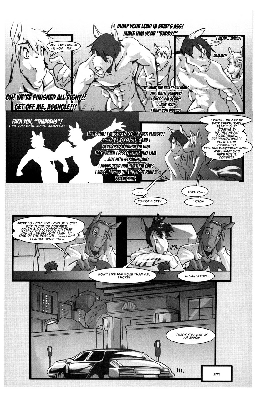 Long Time gay furry comic