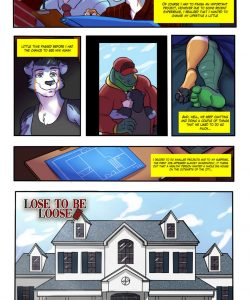 Lose To Be Loose 032 and Gay furries comics