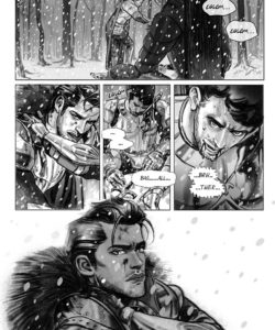Lost In The Snow 003 and Gay furries comics