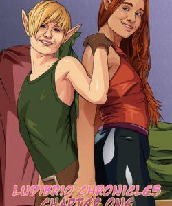 Ludibrio Chronicles 1 - Liberum Commutatio 001 and Gay furries comics