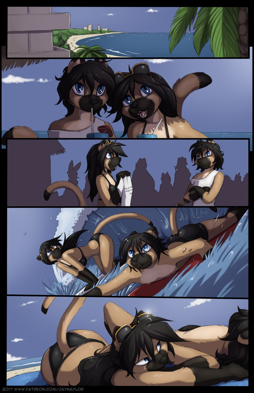Mai And Minh's Grand Vacation gay furry comic