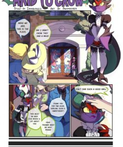 Maid To Grow 001 and Gay furries comics