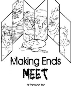 Making Ends Meet 001 and Gay furries comics