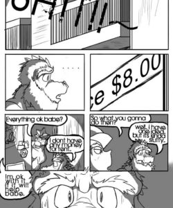 Making Ends Meet 002 and Gay furries comics
