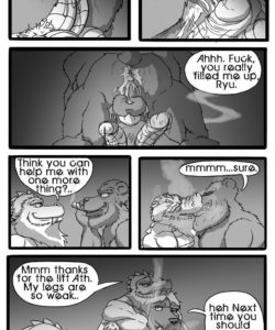 Making Ends Meet 041 and Gay furries comics