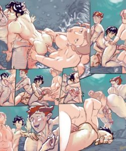 Mandatory Hotsprings Scene 003 and Gay furries comics
