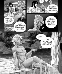 Maneater 008 and Gay furries comics