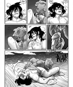 Maneater 010 and Gay furries comics