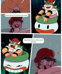 Mario And Bowser 010 and Gay furries comics