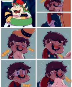 Mario And Bowser 012 and Gay furries comics