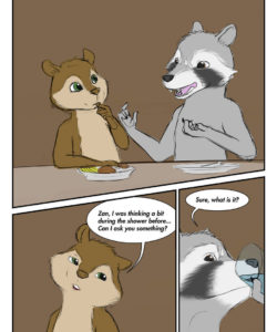 Masks And Nuts 005 and Gay furries comics