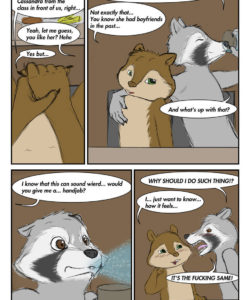 Masks And Nuts 006 and Gay furries comics