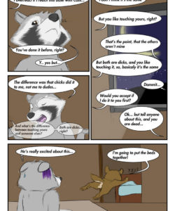 Masks And Nuts 007 and Gay furries comics
