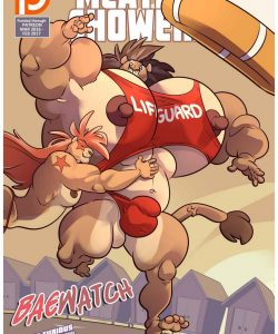 Meatier Showers – Baewatch gay furry comic