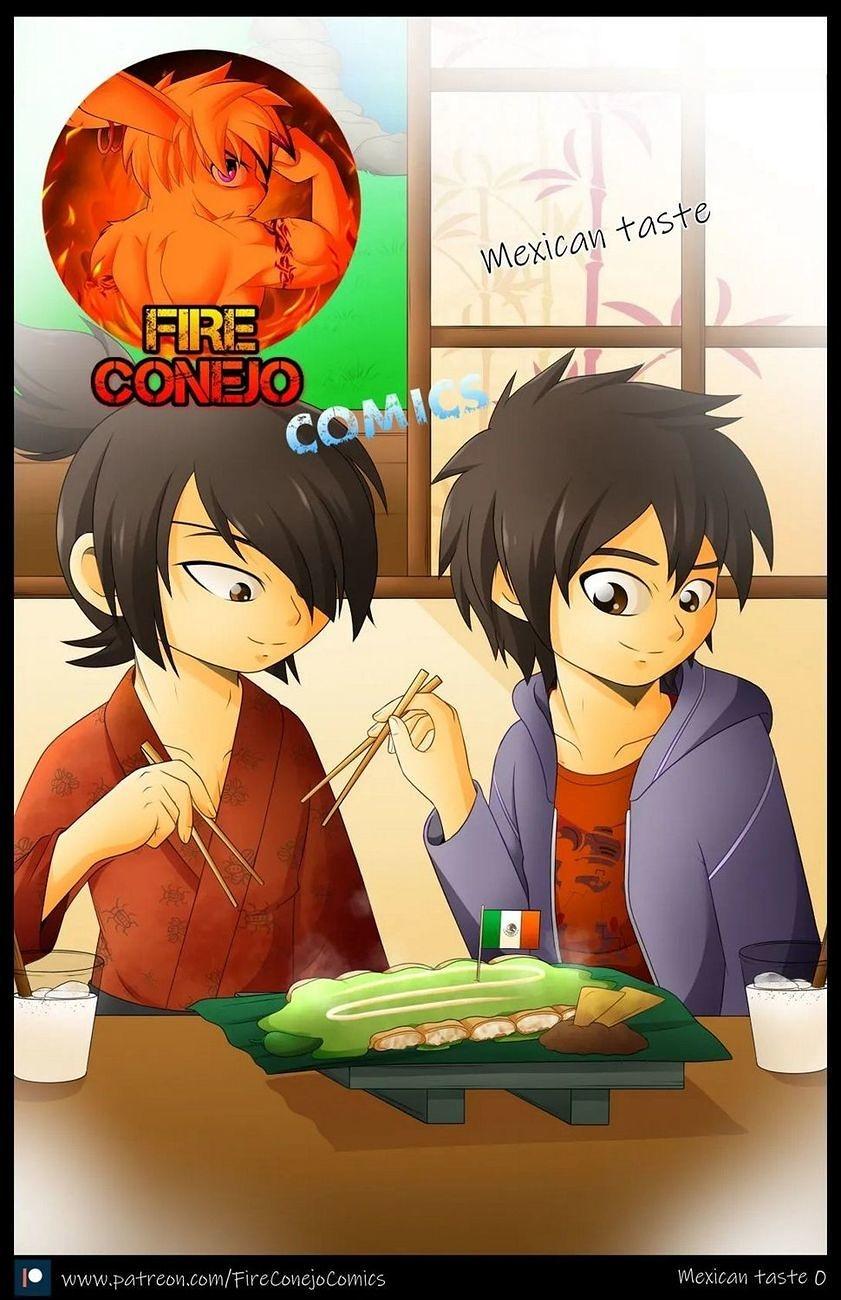 Mexican Taste gay furry comic