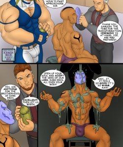 Midnightman 4 gay furry comic