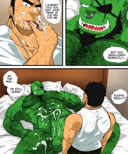 My Life With A Orc 1 - After Work 006 and Gay furries comics