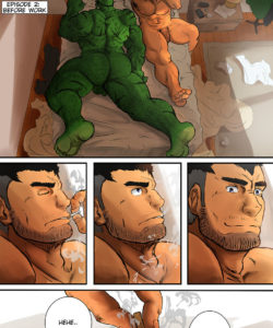 My Life With A Orc 2 – Before Work gay furry comic