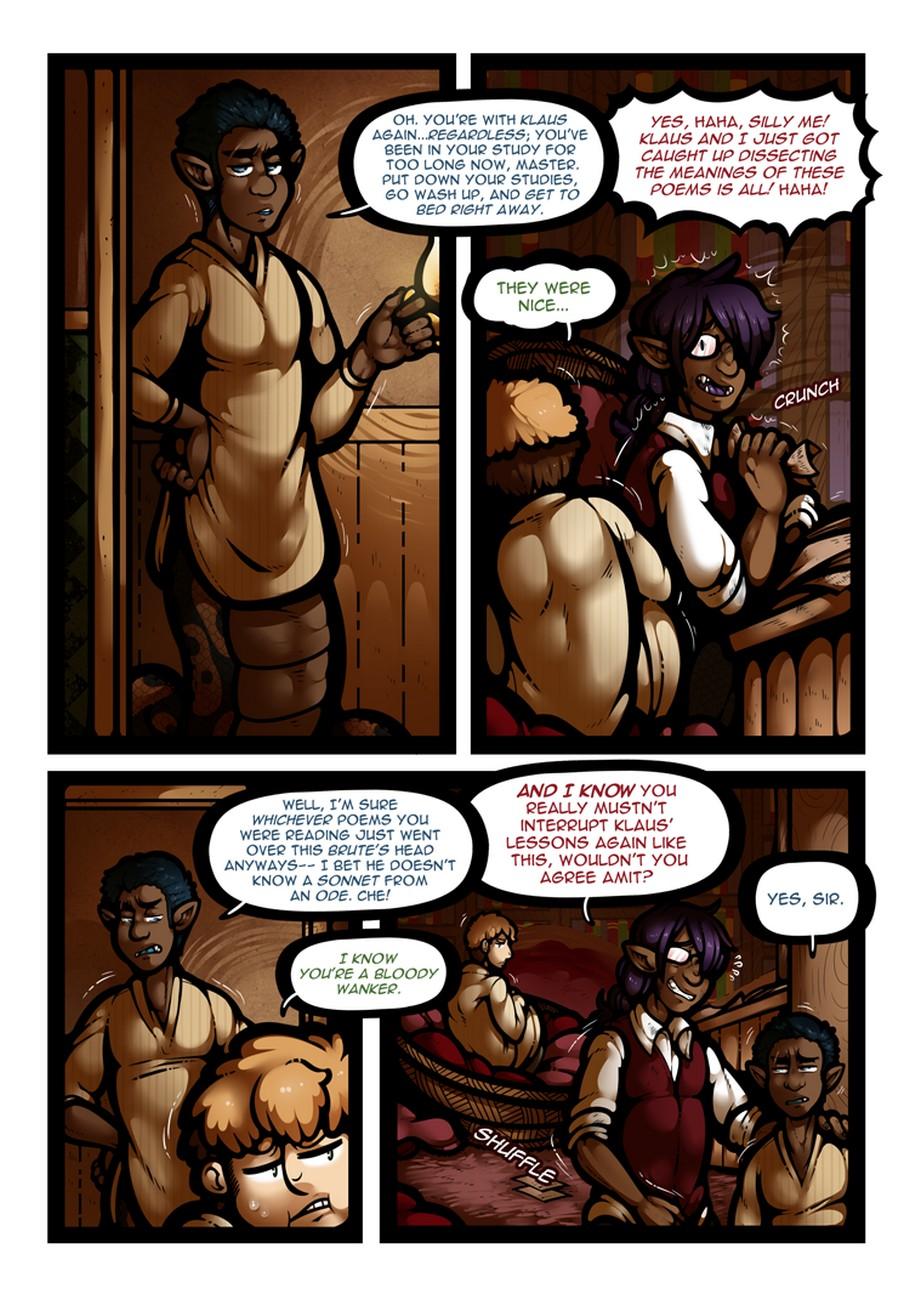 My Master Is A Naga 2 gay furry comic