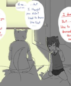 My Tsundere Brother 004 and Gay furries comics
