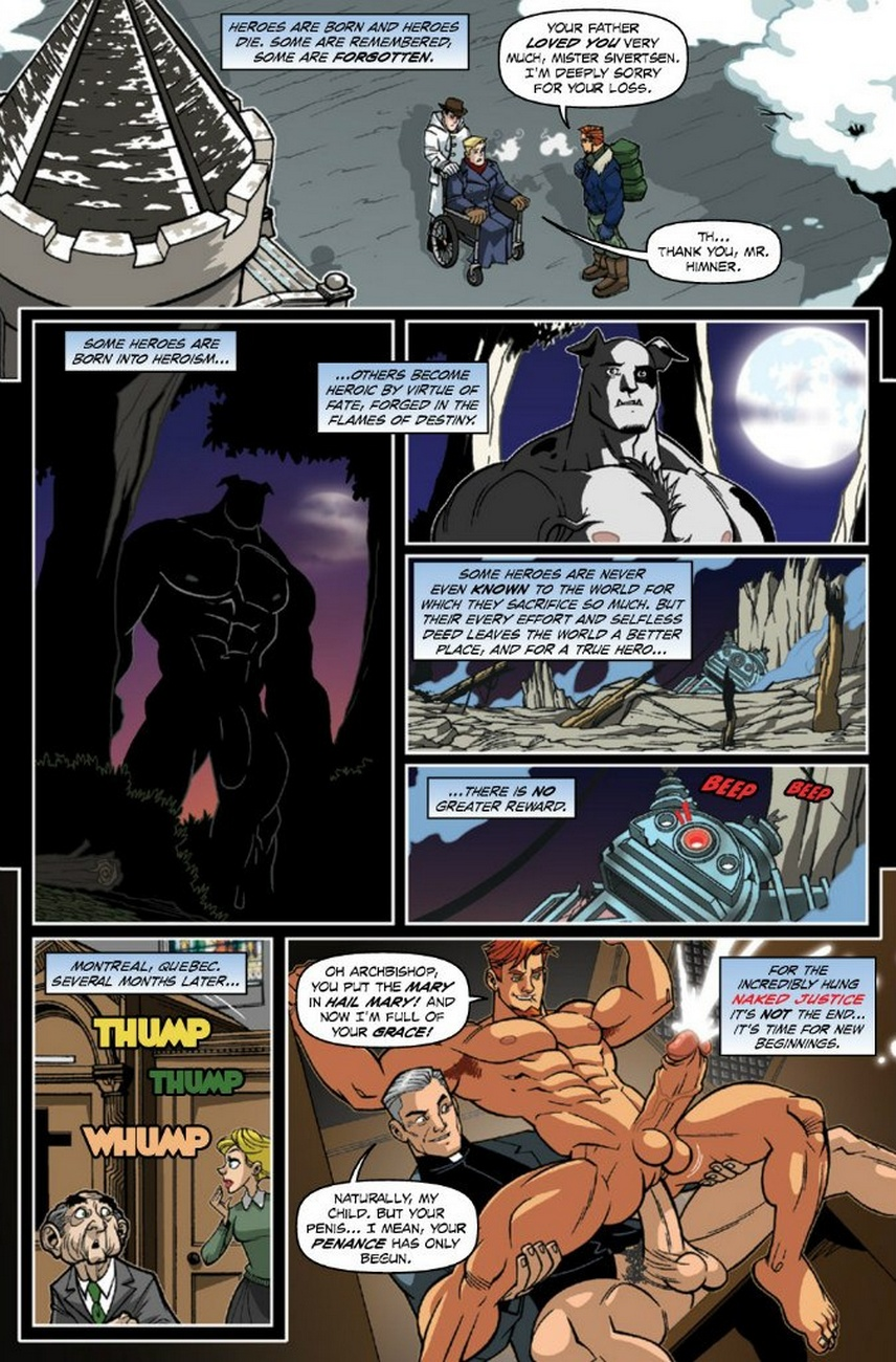 Naked Justice – Beginnings 3 gay furry comic