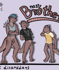 Nasty Brothers 001 and Gay furries comics