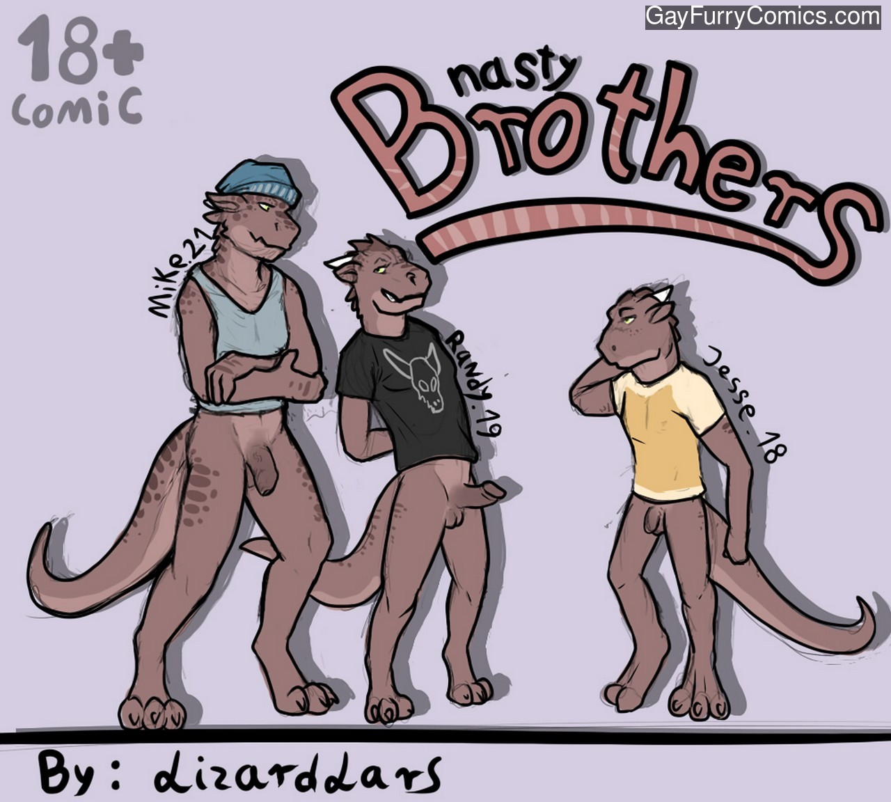 Nasty Brothers gay furries