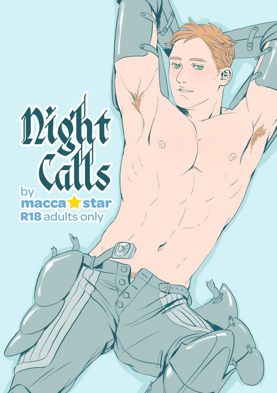 Night Calls 1 gay furry comic