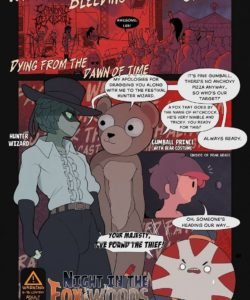 Night In The Fox Woods 001 and Gay furries comics