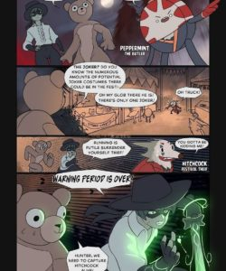 Night In The Fox Woods 002 and Gay furries comics
