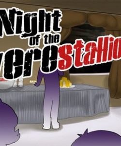 Night Of The Werestallion 001 and Gay furries comics