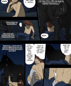Night Of The Werestallion 013 and Gay furries comics