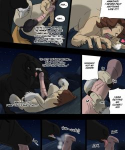 Night Of The Werestallion 017 and Gay furries comics