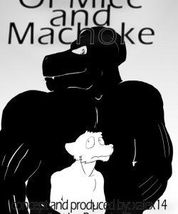 Of Mice And Machoke 001 Gay Furry Comics