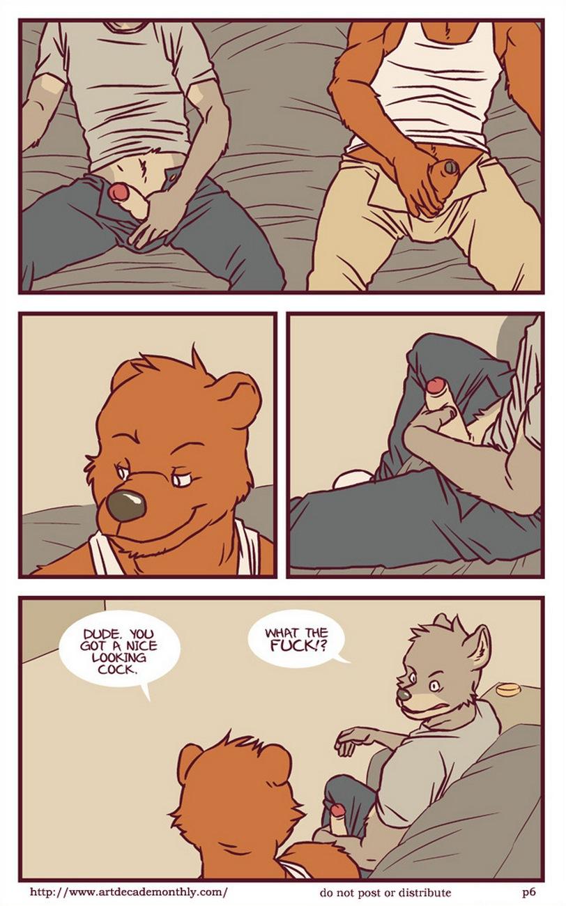 furry gay kiss
