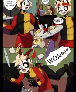 Overtime 002 and Gay furries comics