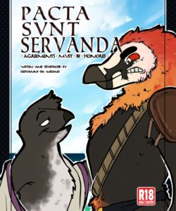 Pacta Svnt Servanda 001 and Gay furries comics