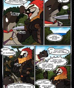 Pacta Svnt Servanda 007 and Gay furries comics