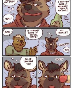Palm Of My Hand 001 and Gay furries comics