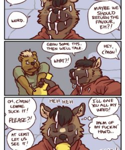 Palm Of My Hand 006 and Gay furries comics